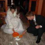 çeklerde düğün